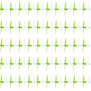25 x Quantity of Cheer X1 Propeller Blades Lime Green & White Propellers Props Prop Set Blades Rotor Blade Replacements - FAST FROM Orlando, Florida USA!