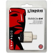 Kingston Mobilelite G4 Usb 3 (Fcr-Mlg4) Card Reader (Black)