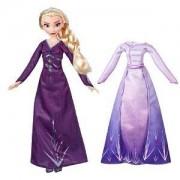 Детска кукла, Дисни принцеси - Замръзналото Кралство 2 - Елза от Кралство Арендел с две рокли, 0340471