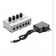 HA400 Ultra-compacto 4 canales mini audio estéreo amplificador de auriculares