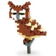 Kawada Kawada NanoBlock Eagle Owl () Building Kit