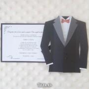 Invitatii de nunta superbe, Sacou 3D