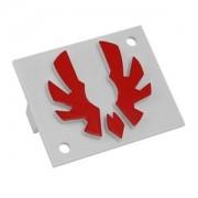 Emblema rosie Bitfenix pentru carcasa Shinobi