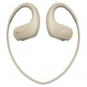Sony Walkman NW-WS413 - водоустойчив MP3 плеър (за плуване) с вградена памет 4 GB (бежов)