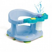 Scaun baie bebe cu stropitoare si jucarii Olmitos Blue