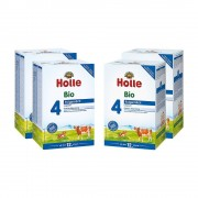 Holle 4x Holle Bio-Folgemilch 4 ab dem 12. Monat (4x600g)