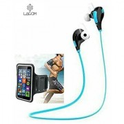 Lagom JOGGER Sport Bluetooth Headset Wireless Earphones Stereo Bluetooth Headphone Compatible with all smart phones - Bl