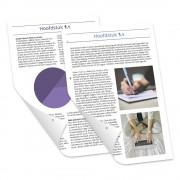 Studentendrukwerk Verslag 17x24 staand losbladig drukken