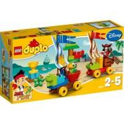 LEGO DUPLO Jake en de Nooitgedachtland Piraten Strandrace - 10539
