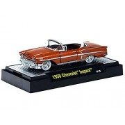 M2 Machines Auto-thentics 1958 Chevy Impala 1:64 Copper