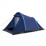 vidaXL Tenda de campismo com vigas insufláveis 320x170x150/110 cm azul