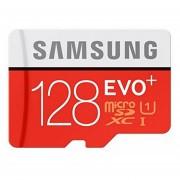 Memoria Micro SD SAMSUNG Class10 EVO PLUS 128GB - Rojo