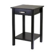 Liso End Table / Printer Table with Drawer and Shelf