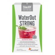 SlimJOY WaterOut Strong - Bebida drenante, sabor a framboesa, 10 saquetas