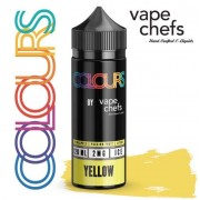 Colours By Vape Chefs Yellow 120ml 2mg
