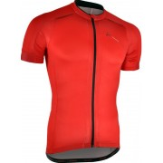 Férfi kerékpáros mez Silvini CENO MD1000 piros-fekete