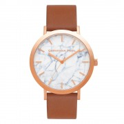 Christian Paul - Avalon Marble 43 MM - Rose / Brown