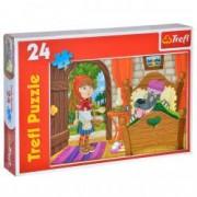 Puzzle Trefl scufita rosie 24 pcs