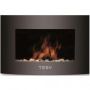 Електрическа камина Tesy WEF 200 SRELW, Mощност 2000 W, Дистанционно управление