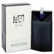 Alien Man by Thierry Mugler Eau De Toilette Refillable Spray 3.4 oz