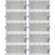 Metal 50 Watt 220-240V Waterproof Landscape IP65 Perfect Power LED Flood Light (White)-Pack Of 10