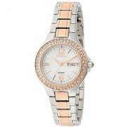 Casio Quartz White Round Women Watch SX100
