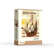 Corabia Santa Maria - Puzzle 3D - 93 piese