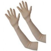 Earth ro system Girls Womens Full Hand cotton Gloves For Protection From Sun Burn/Heat/Pollution