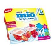 Nestle' It.Spa(Infant Nutrit.) Mio Merenda Cremosa Fragola + Lampone 6 X 60 G