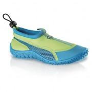 Merkloos Blauw/groene waterschoenen voor kinderen