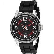 Fastrack Quartz Black Round Men Watch 3157kp01