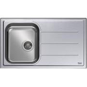 Ariston Sc 86w1 (X) Ha Lavello Cucina 1 Vasca Incasso Con Gocciolatoio Dx Larghezza 86 Cm Materiale Acciaio Inox Finitura Satinata - Sc 86w1 (X) Ha Serie Newstyle