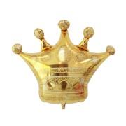Balon în formă de Coroană, culoare aurie