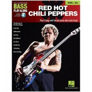 Hal Leonard Bass Play-Along Vol.42 - Red Hot Chili Peppers Play-Along