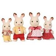 Jucarie Sylvanian Families Chocolate Rabbit Family