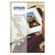 Hartie fotografica Epson Glossy, 100 x 150 mm, Alb