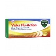 Procter & Gamble Srl Vicks Flu Action 200+30mg 12 Compresse