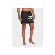 Reebok short de bain reebok tupper - Black / White, Black / White - XL