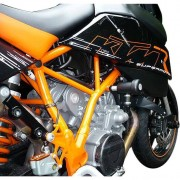 B&G Motorrad Sturzpads B&G Sturzpads Supermoto/Superduke 950/990, Racing schwarz