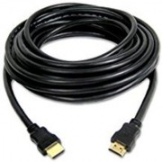 techon hdmi to hdmi cable 5 mtr high speed round 1.4 version cable gold plated