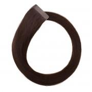 Rapunzel® Extensions Naturali Quick & Easy Original Liscio 2.3 Chocolate Brown 50 cm