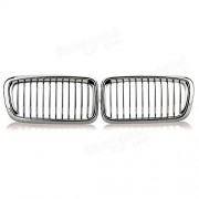 HECTAREBUY Chrome Car Kidney Grills Grilles for BMW E38 740 750 98 99 2000 2001