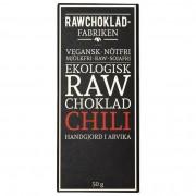 Rawchokladfabriken Ekologisk Rawchoklad Chili 73%, 50 g