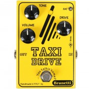 Brunetti Taxi Drive boost- en overdrive-pedaal