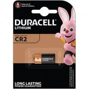 Canon CR-2 Battery, Duracell replacement DLCR2