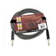 Cablu Instrument Dimavery bk/sil jack 6.3 - jack 6.3 Mono 3m