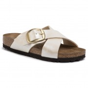 Чехли BIRKENSTOCK - Siena Big Buckle 1016099 Graceful Pearl White