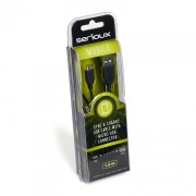 SERIOUX MICROUSB CABLE 1M BLACK 12