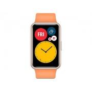 "Reloj inteligente Huawei Watch Fit, Amoled 1.64"" naranja, 55025868"
