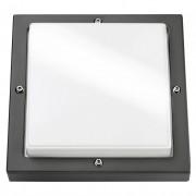 SG lighting LED Bassi 10W 3000K LED grafiet vierkant schemerschakelaar 623188